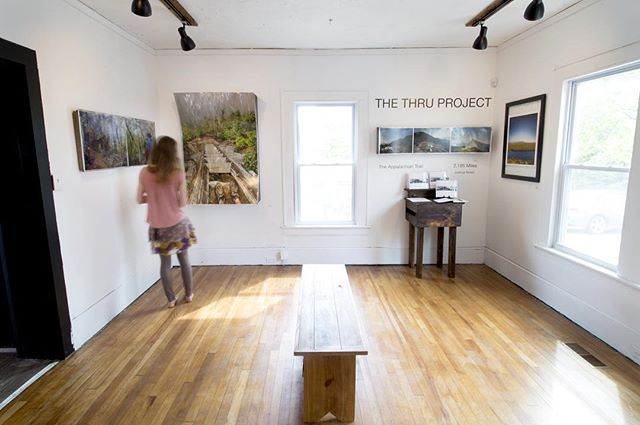 The Thru Project is pleased to announce the launch of the @thewandertrees Gallery and Craft store with @thethruproject showing in the main gallery until the end of June. Come and check us out, #thethruprojectbook will be on hand for sale! -- #appalachiantrail #thruhike #joshuaniven #thewandertrees #virginia #whiteblaze