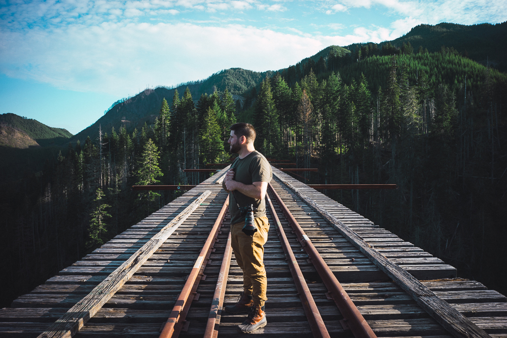 Mike on Vance Creek