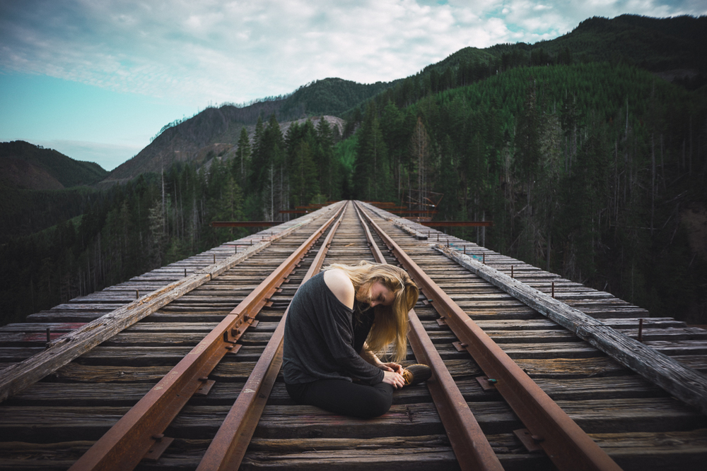 Kayla on Vance Creek