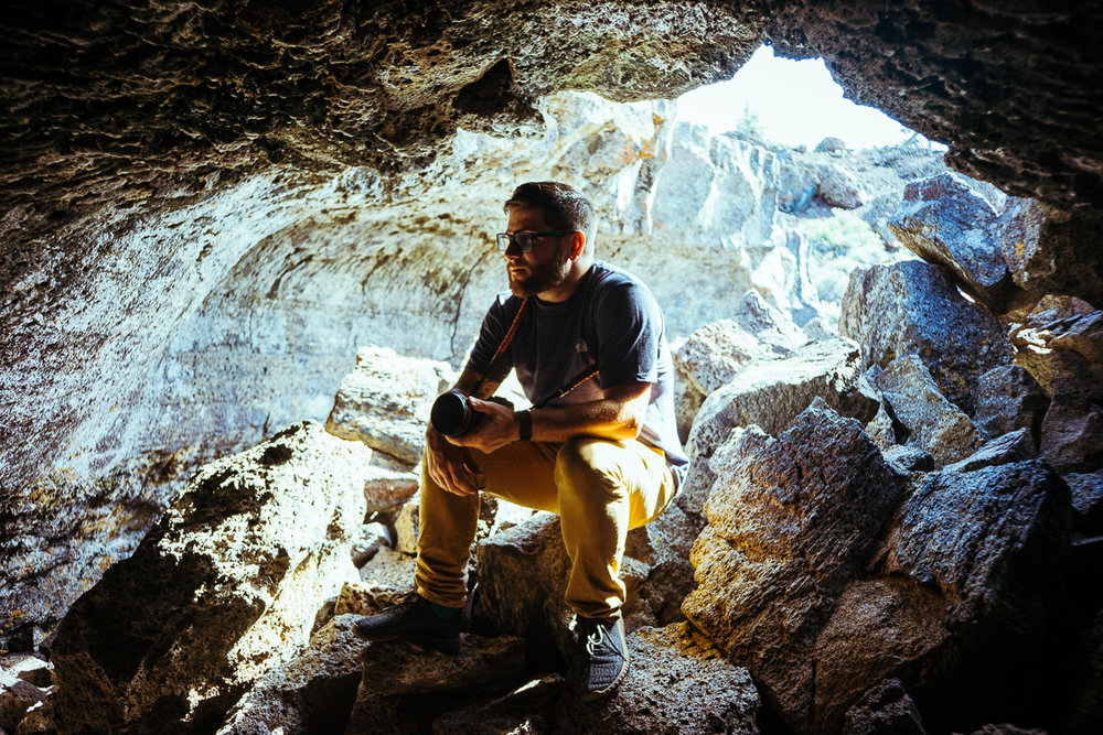 Cave master Mike
