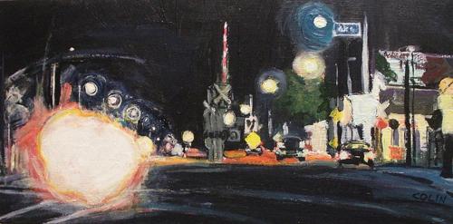 Night Lights - Avenue 61 at North Figueroa