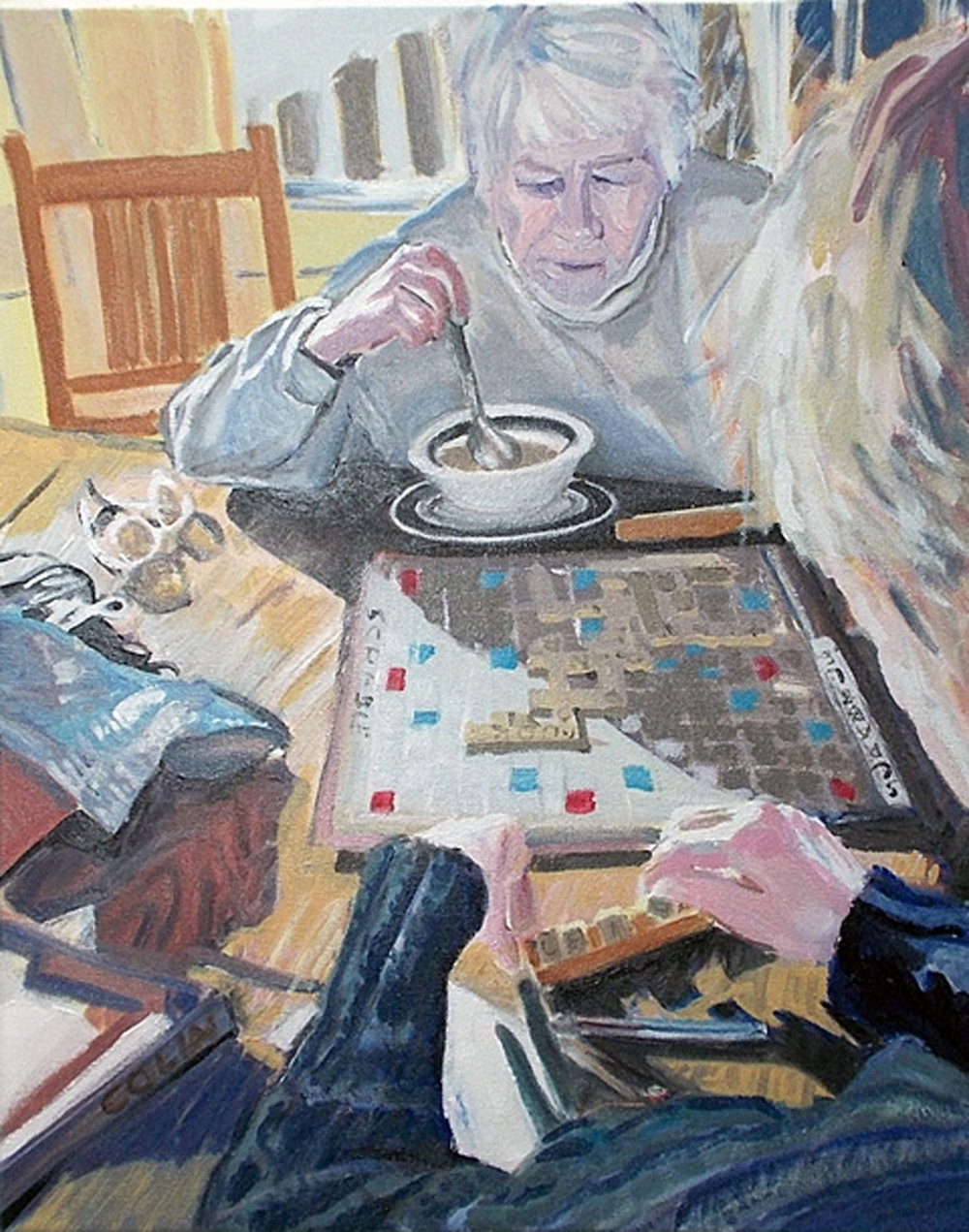 The Scrabble Players