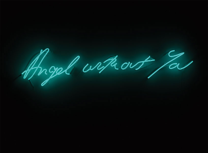 TRACEY EMIN Angel without you, 2013 Neon 47 x 239 x 2.5 inches