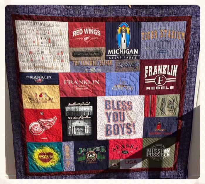 T Shirt Quilts Sew Sweet Designs