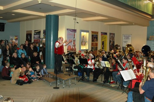 Anchorage Tuba Christmas conductor, Neal Haglund, directs Tuba Christmas favorites!
