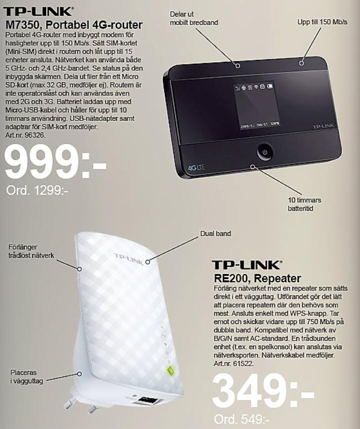 Kampanj för TP-link