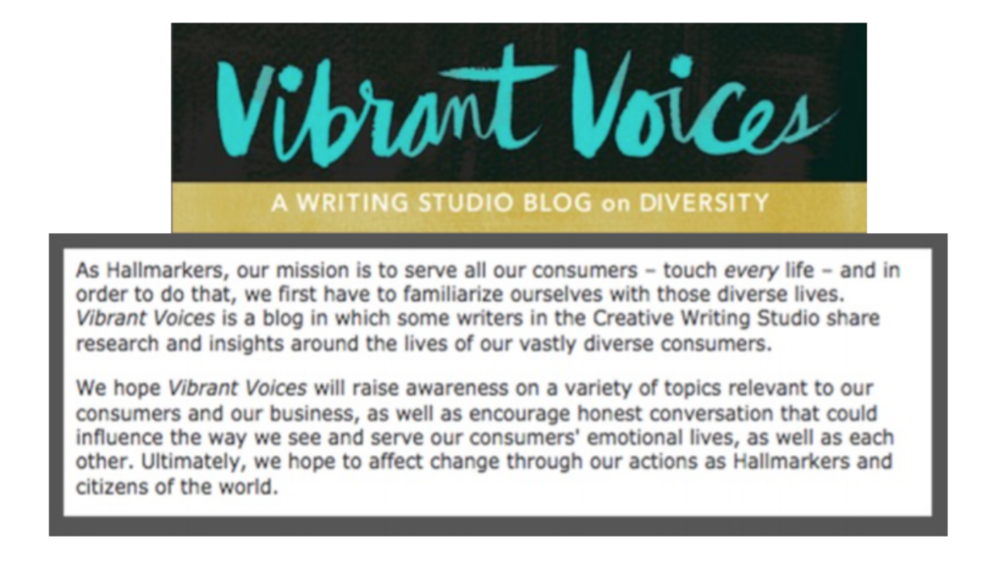 Founded, managed & wrote for VV blog