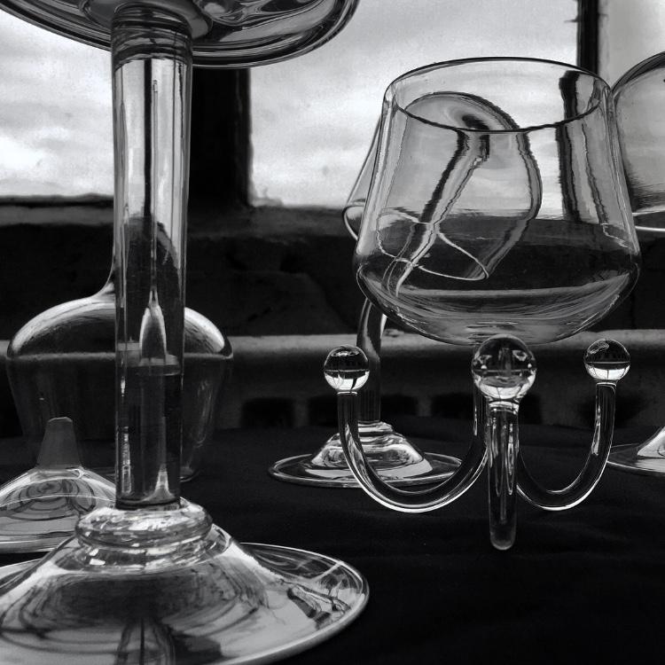 Glass goblets design