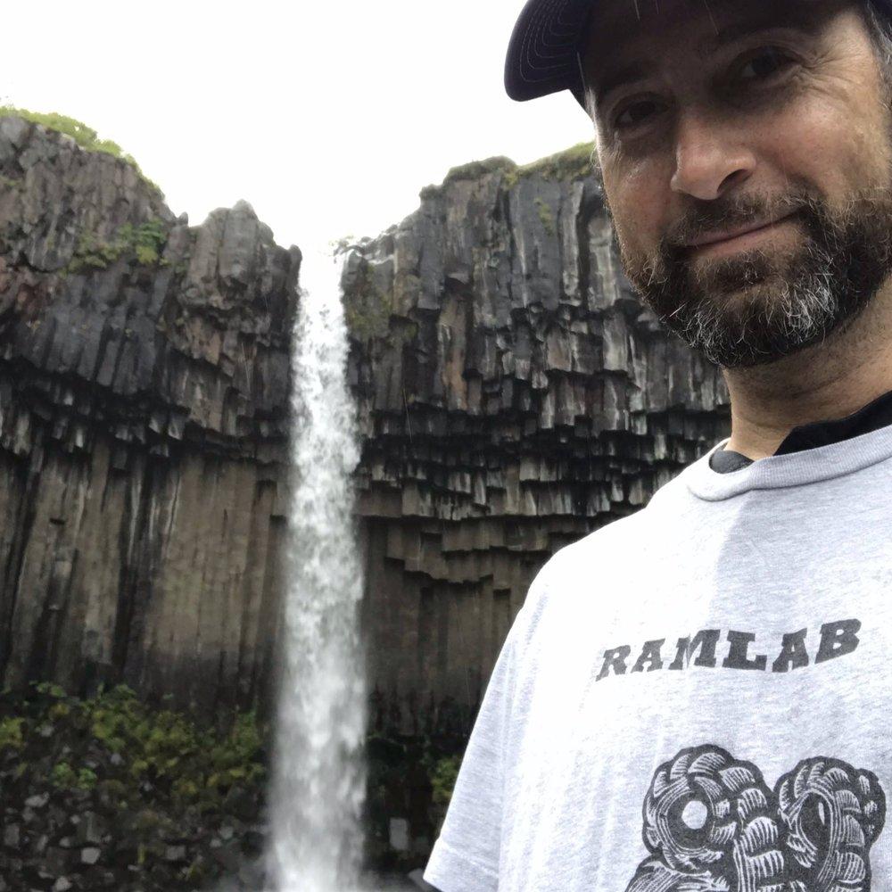 SVARTIFOSS WATERFALL   VATNAJÖKULL NATIONAL PARK   ICELAND