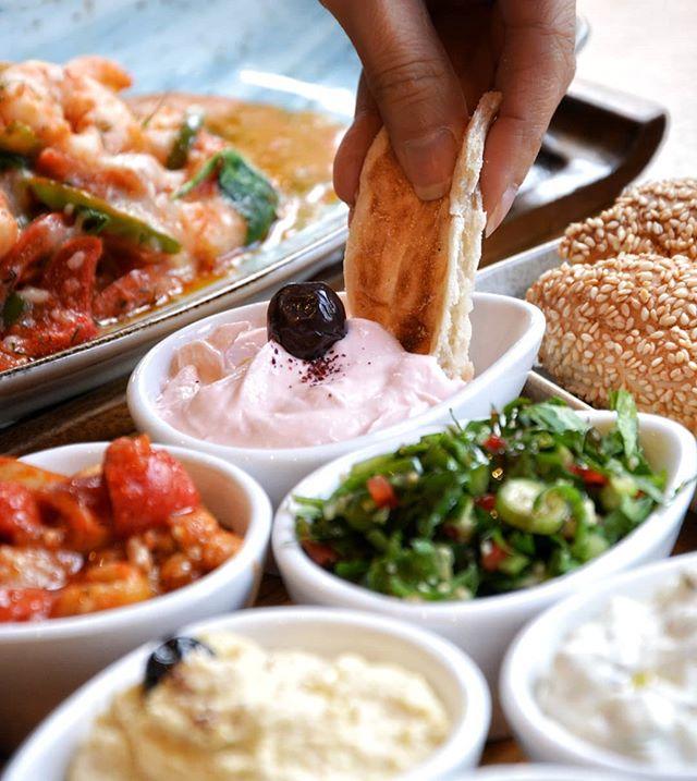 Dip into the weekend with a Turkish #Feast! 😋🍽❤ #Mezze #IshtahLondon . . . #SaturdayFeast #London #Finchley #Barnet #TurkishRestaurant #MediterraneanFood #Hendon #Lunch #turkishfood #londonfood #londonfoodie #foodie #foodies #londongram #londonrestaurants #gourmet #centralfinchley #londonboroughofbarnet #londonplaces #londontown #londonlife #foodgram #foodstagram #foodporn #foodgasm #noms #feasting