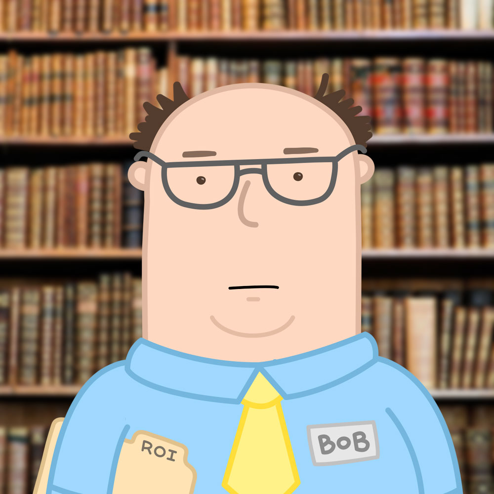 Bob from Accounting He's from accounting