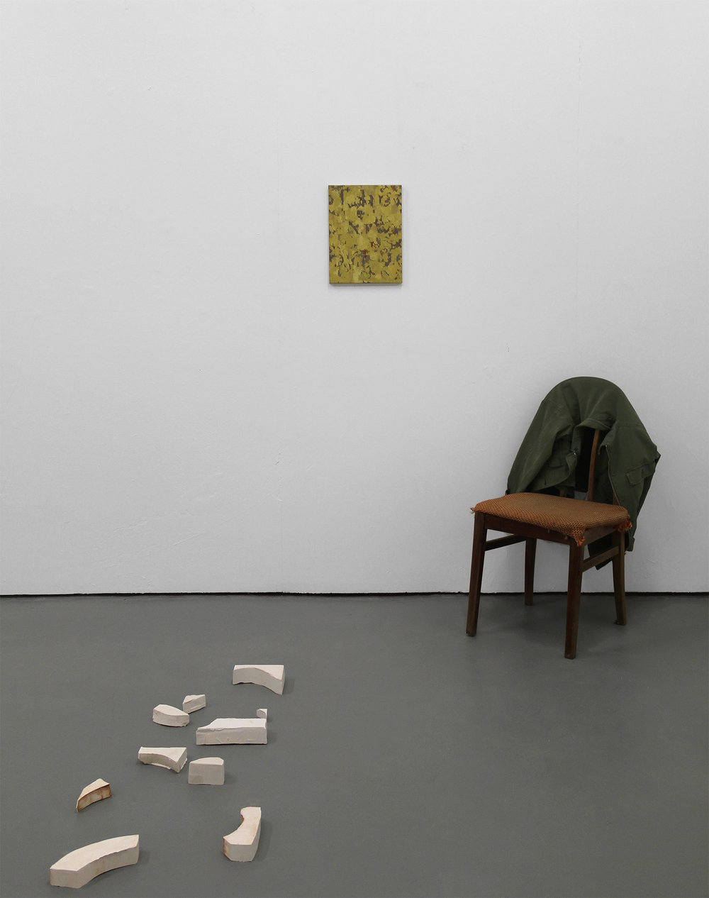 installation view Generator Projects, Dundee, May 2018.  View   exhibition text     and   price list