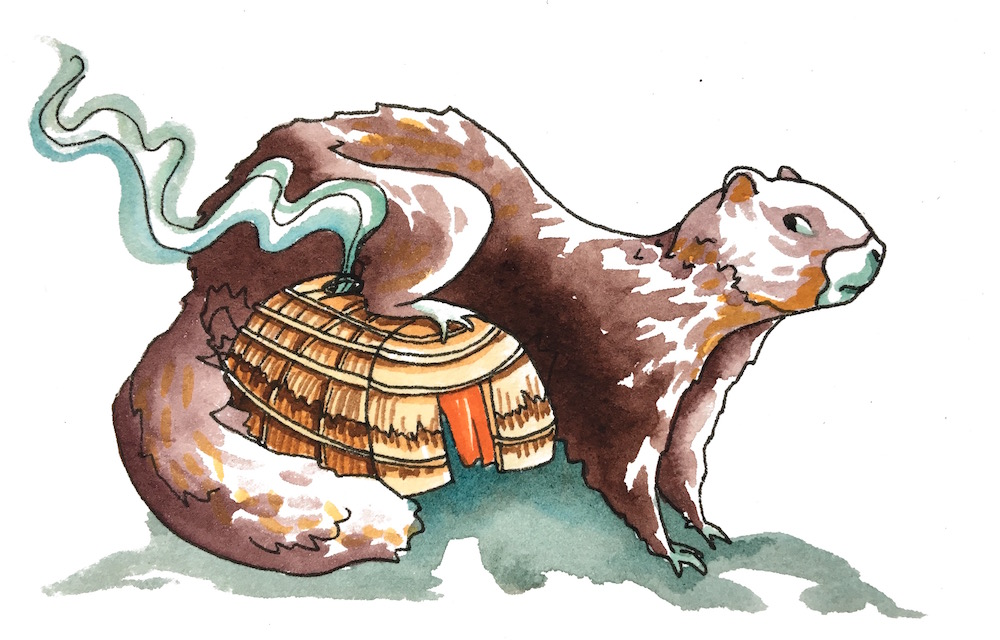 """Marmot's Longhouse - """"Marmot's sweat lodge purged my soul of all its earthly demons and left me cleaner than an angel's ass cheeks."""""""