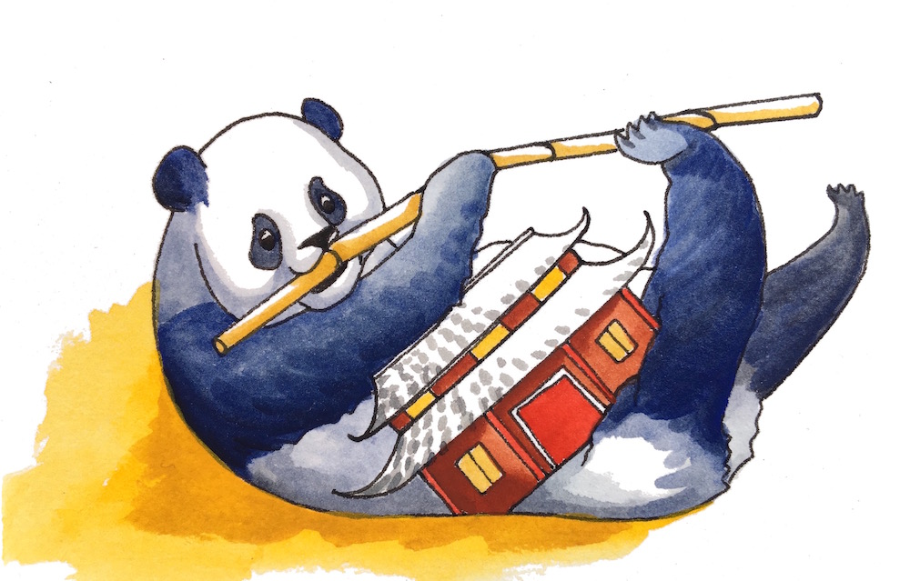 """Panda's Pagoda - """"The menu at Panda's is a little sparse - bamboo three meals a day."""""""
