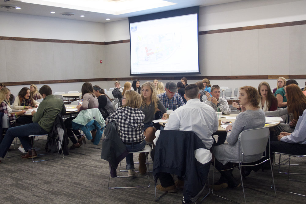 Copy of LCCC provided a wonderful keynote and lunchroom space for the 2017 Convention. Photo by Dawn Knudsvig
