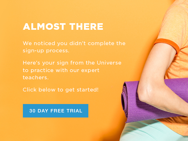 Example of redesigned email campaign graphic. This one was for customers who didn't complete their sign-up process.