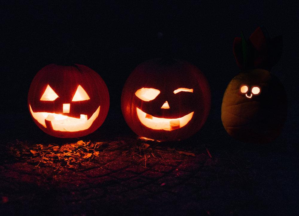 Wanda edited into a jack o' lantern for Halloween.