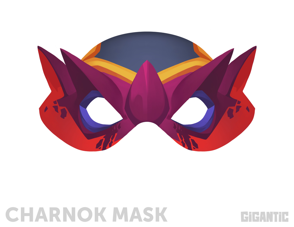 Gigantic: Halloween Mask