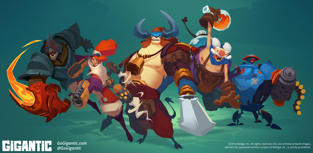 Gigantic: Hero Portraits