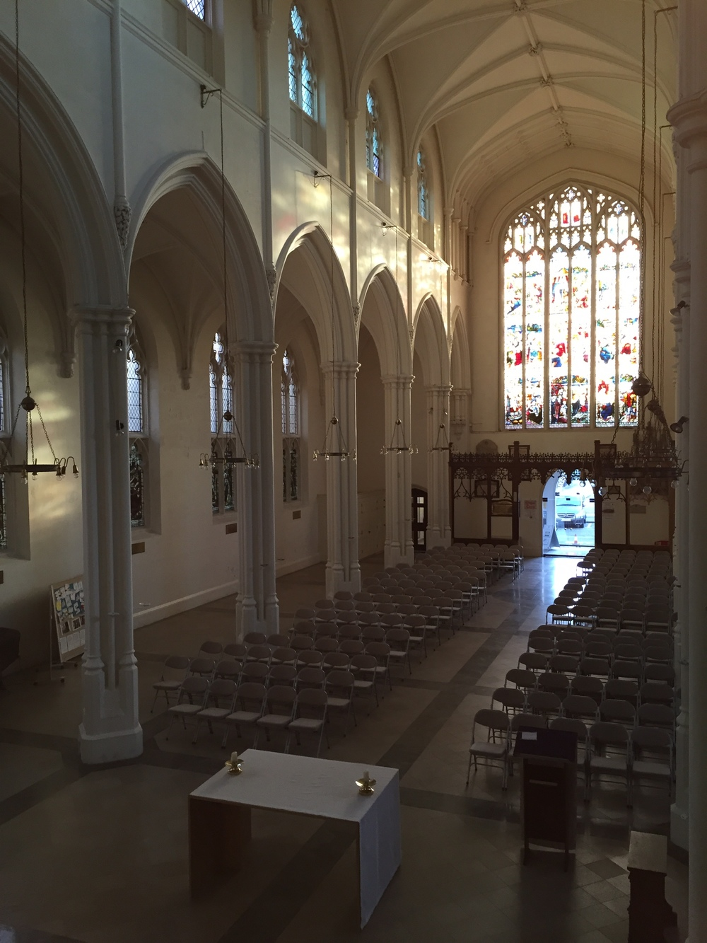 St John's interior in 2015