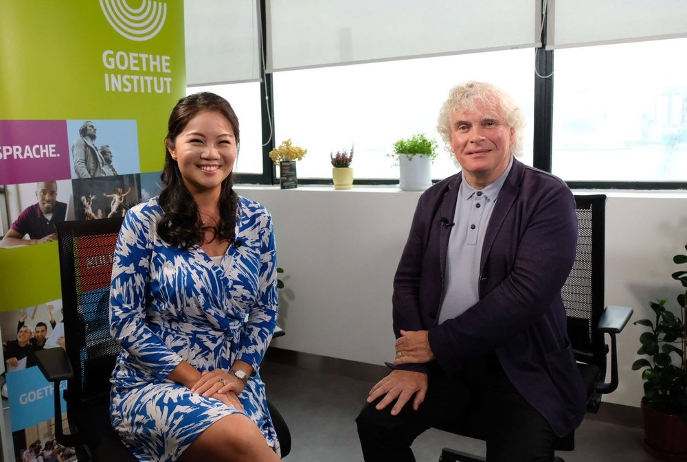 Interview with Sir Simon Rattle