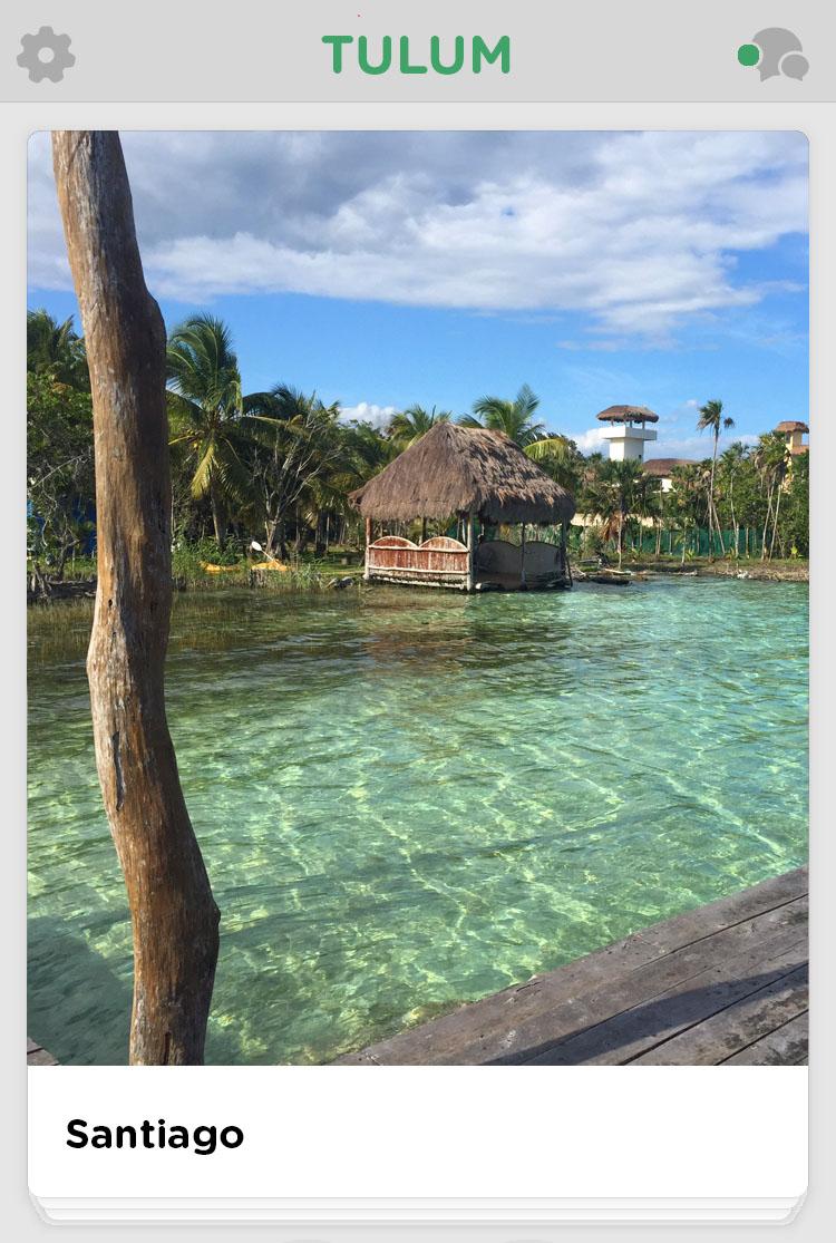 Tulum private beach cove