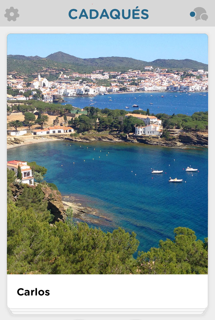 Coastline view in Cadaques, Spain Costa Brava