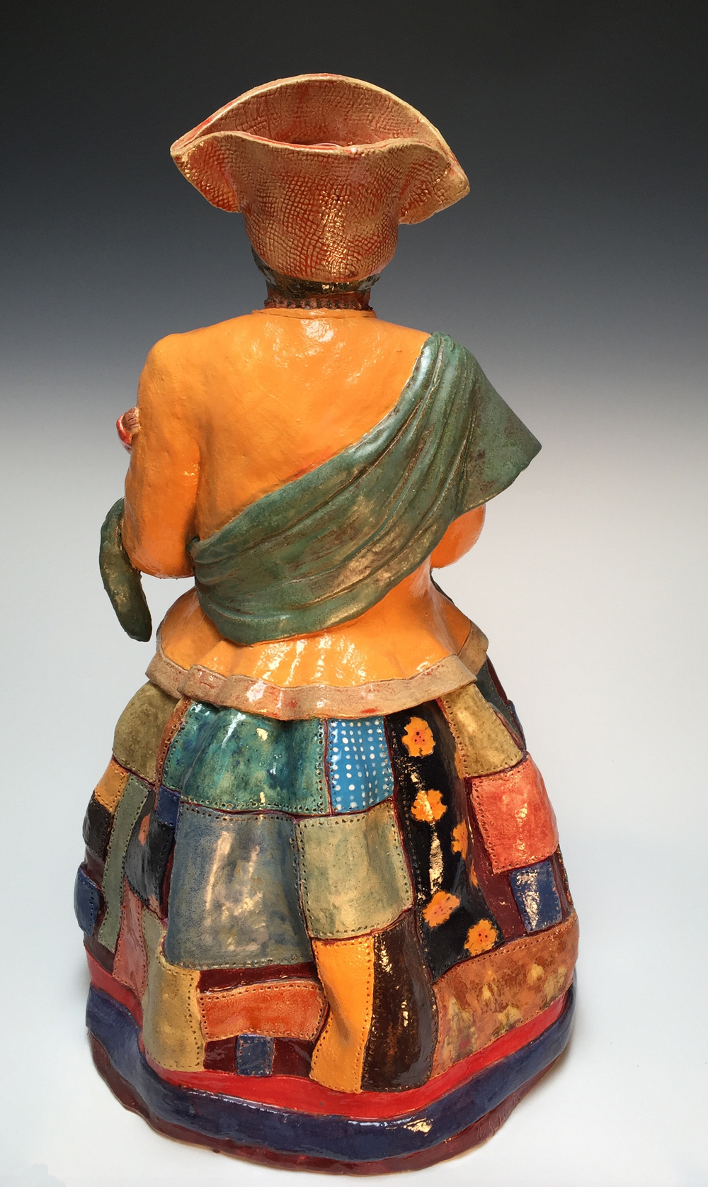 Herero Woman with Child, back