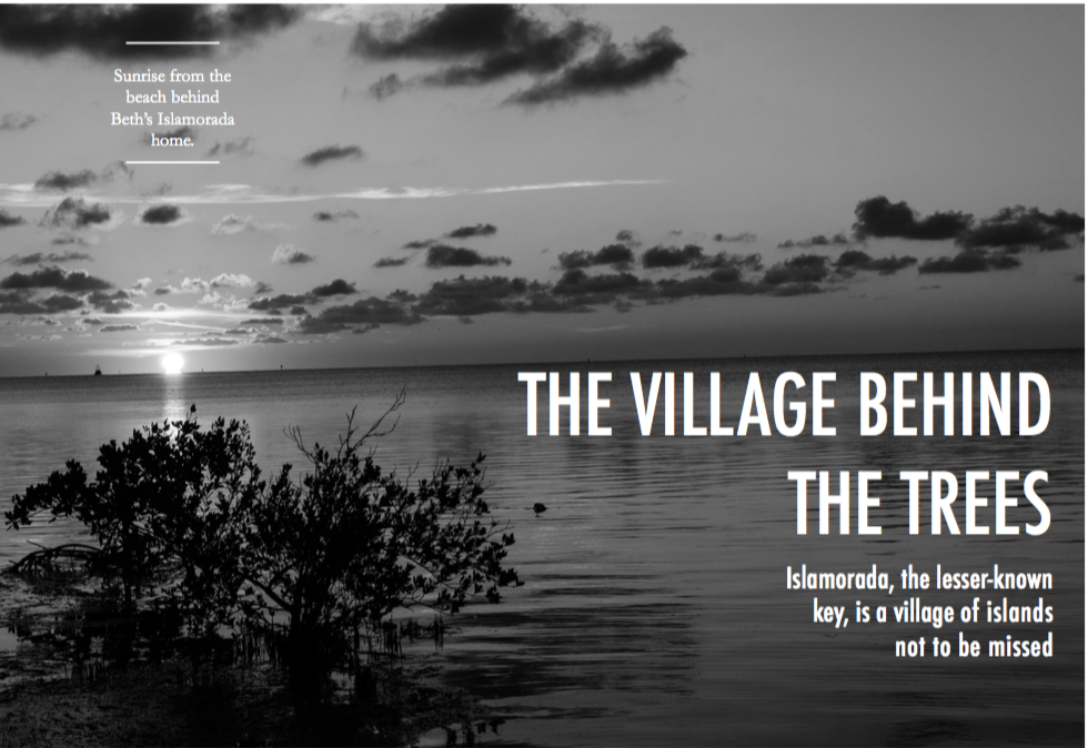 """The Village Behind the Trees""- published in  Detours"