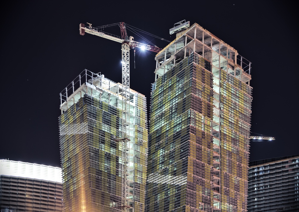 Veer Tower Construction Las Vegas