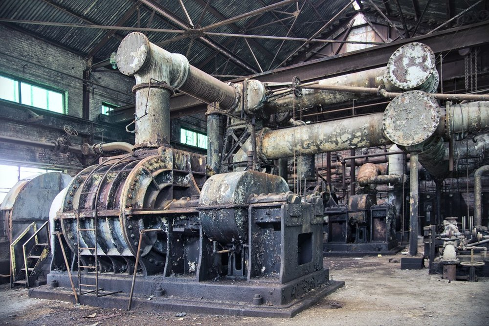 By Product Plant Exhauster c.2009