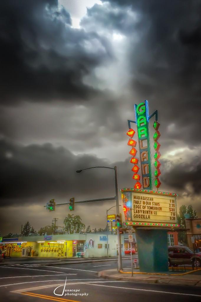 Storm over Garland