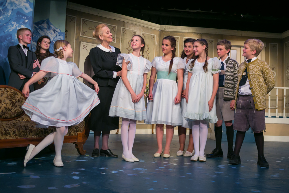 The Von Trapp Children in 'The Sound of Music'
