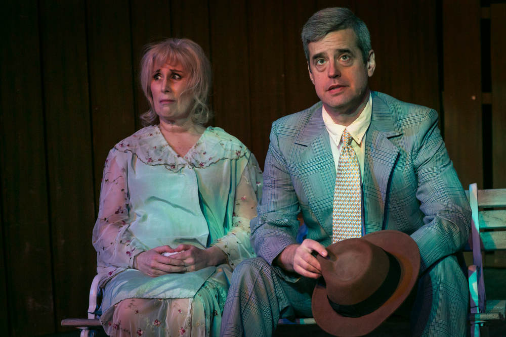 Dave Rideout and Tamara Schupman in 'All My Sons'