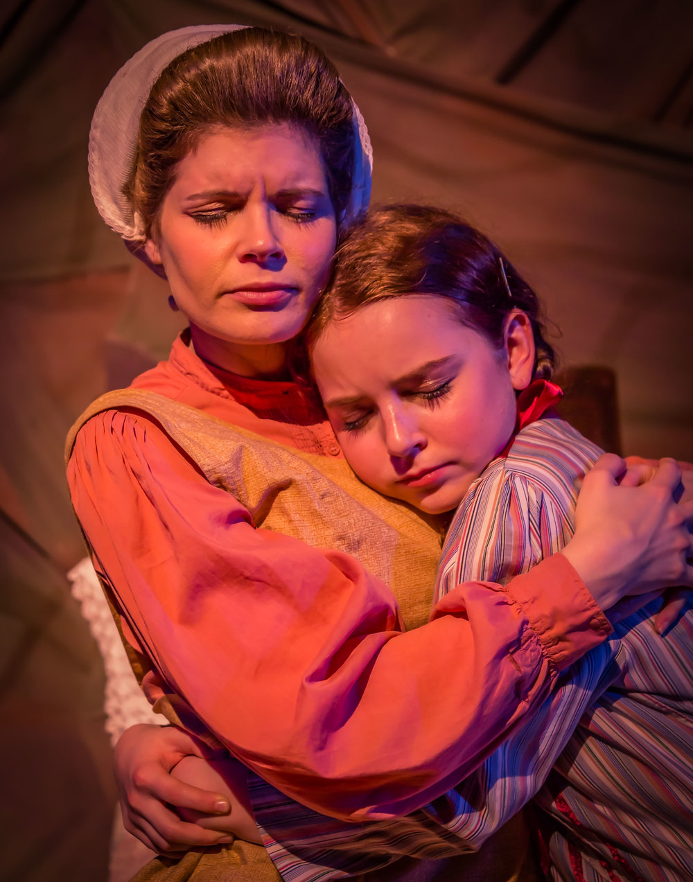 Carrie Daniels and Ashley Doyle - The Secret Garden - The Playhouse SA
