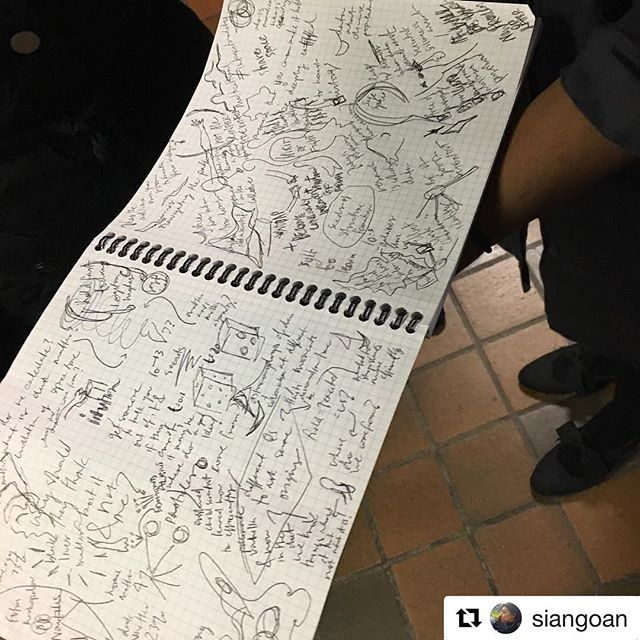 Dr. Chanda Prescod-Weinstein's photo of the notes WPIRG Board Member and Planning student took during Chanda's talk on Tuesday. More to come.  #freeevent #wpirg #chandaprescodweinstein #uwaterloolife #environment #uwaterlooenv #physics #uwaterloophysics #uwaterlooscience #waterloo #campus #studentlife