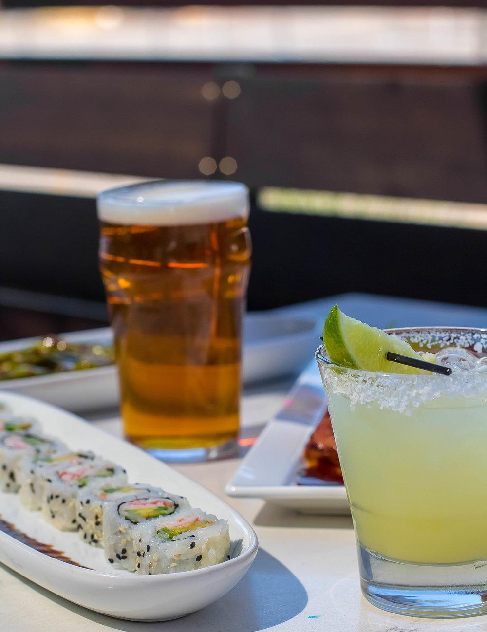 <strong>Happy Hour</strong><p>View Full Menu »</p>
