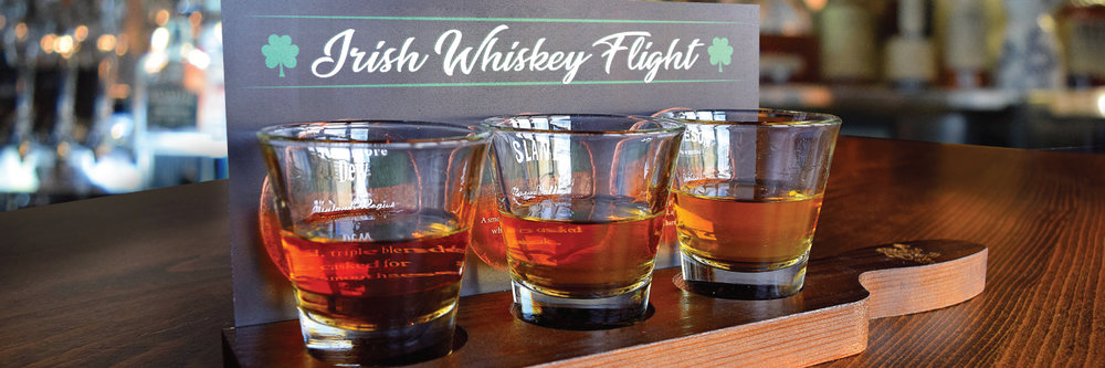Irish Whiskey Flight