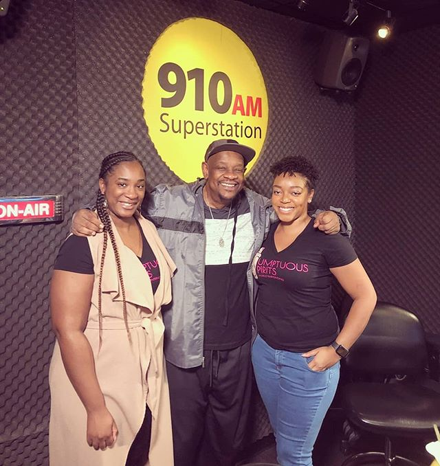 Our owner, Lauren and bar manager, Andrea had a great time yesterday at @910amsuperstation ! Thank you @chuck_bennett for having us on the show!🎙📻 • • #detroitradio #910amsuperstation #sumptuousspirits #detroitentrepreneurs #detroitbusiness #metrodetroit #entrepreneurlife #detroitsmallbusiness #entrepreneurship #blackgirlmagic #blackexcellence #femaleboss #femaleceo #blackownedbusiness