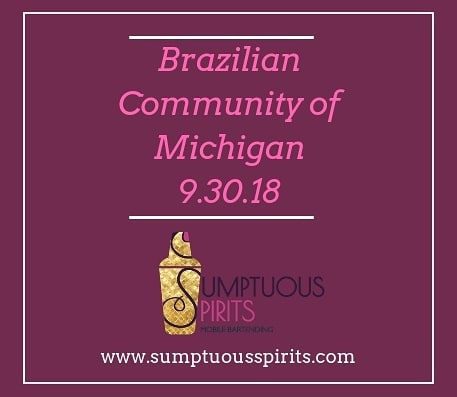 We had a great time bartending the launch party for @braziliancommunityofmichigan !  Make sure you check out their website for more information! http://www.bcmichigan.org/ 🇧🇷 • • • #swipeleft #braziliancommunityofmichigan #brazil #brasil #nonprofit #support #community #networking #launchparty #sumptuousspirits #visitdetroit #puremichigan #detroitevents #chicagoevents #detroitbartender #chicagobartender #detroitsmallbusiness #chitown #detroit #chicagoland #metrodetroit #downtowndetroit #motorcity #madeinmichigan #detroitlove #dtown #detroitbusiness #detroiteventplanner #chicagoeventplanner #bartendingservice