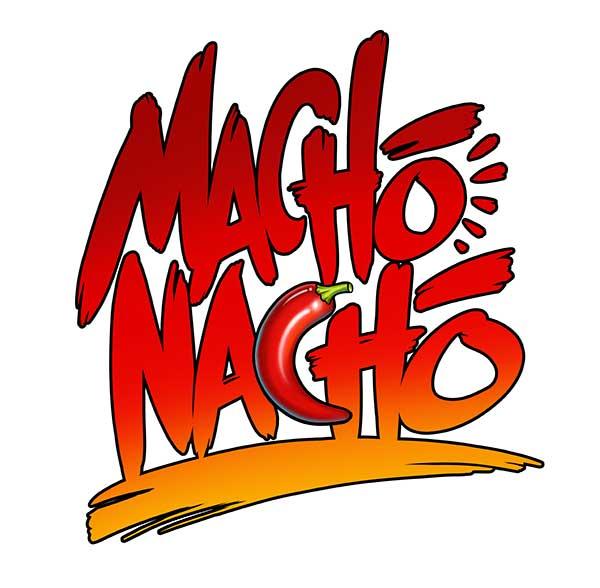 Final Macho Nacho Logo Design