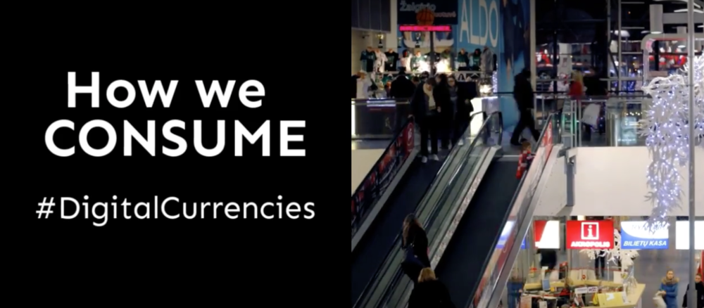How we CONSUME: #DigitalCurrencies