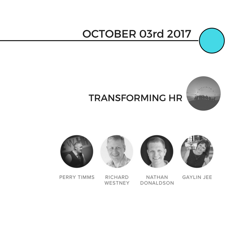 Perry led the Transforming HR conversation. We had a format that was working - with a circle of speakers from across the globe.  -