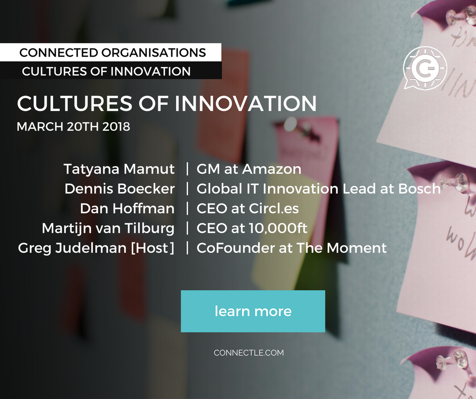 Building Cultures of Innovation
