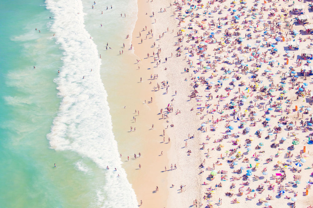 IPANEMA BEACH,  À LA PLAGE