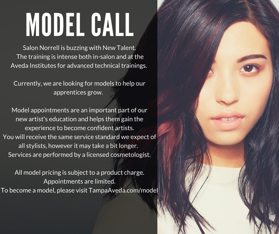 We Do Hair Well Model Tampas Best Salonsalon Norrell Aveda