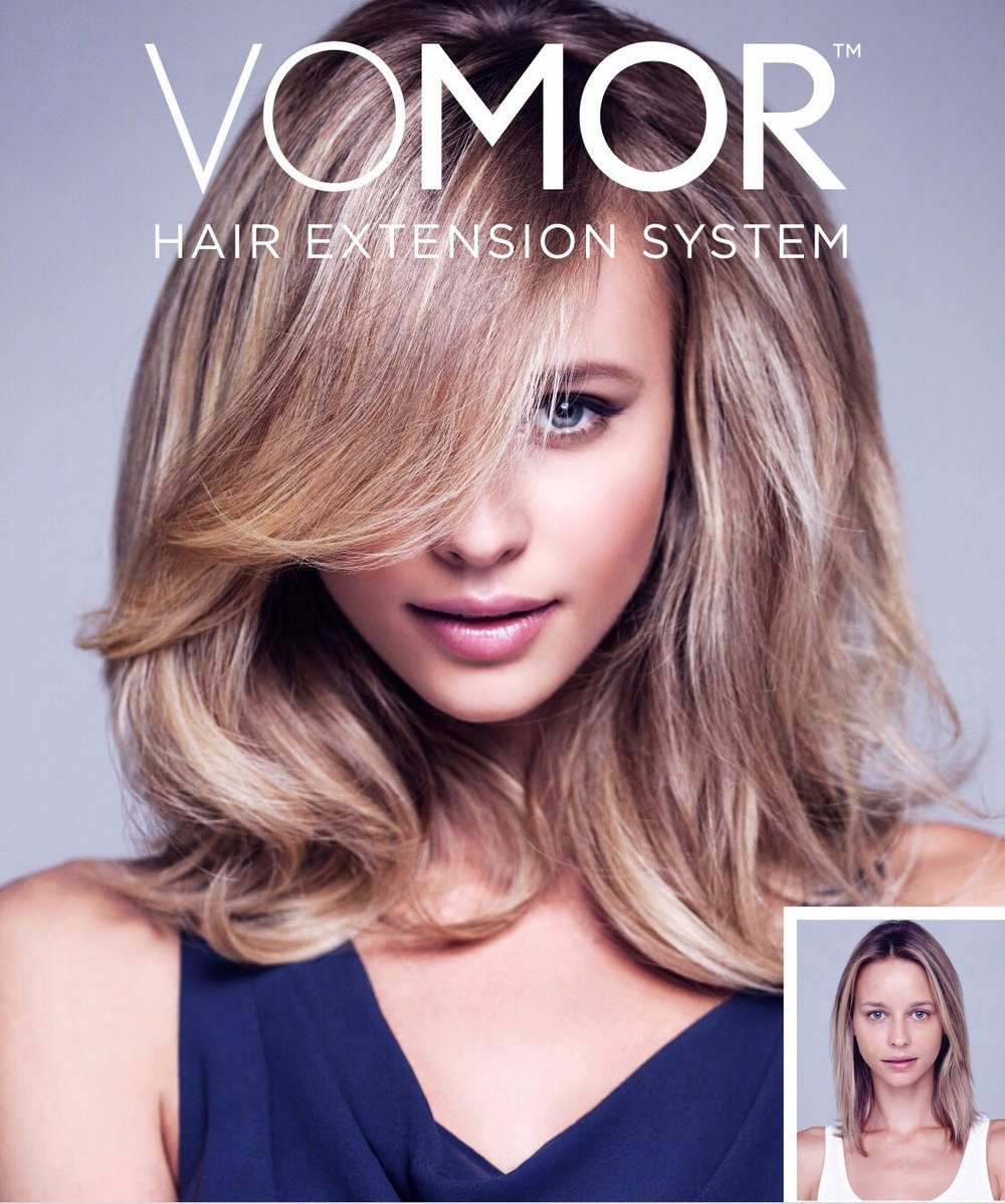 Vomor Extensions... - provide volume, thickness and color that creates beauty and confidence for women with fine or thinning hair. Also, they give dimensional color without compromising their natural hair.