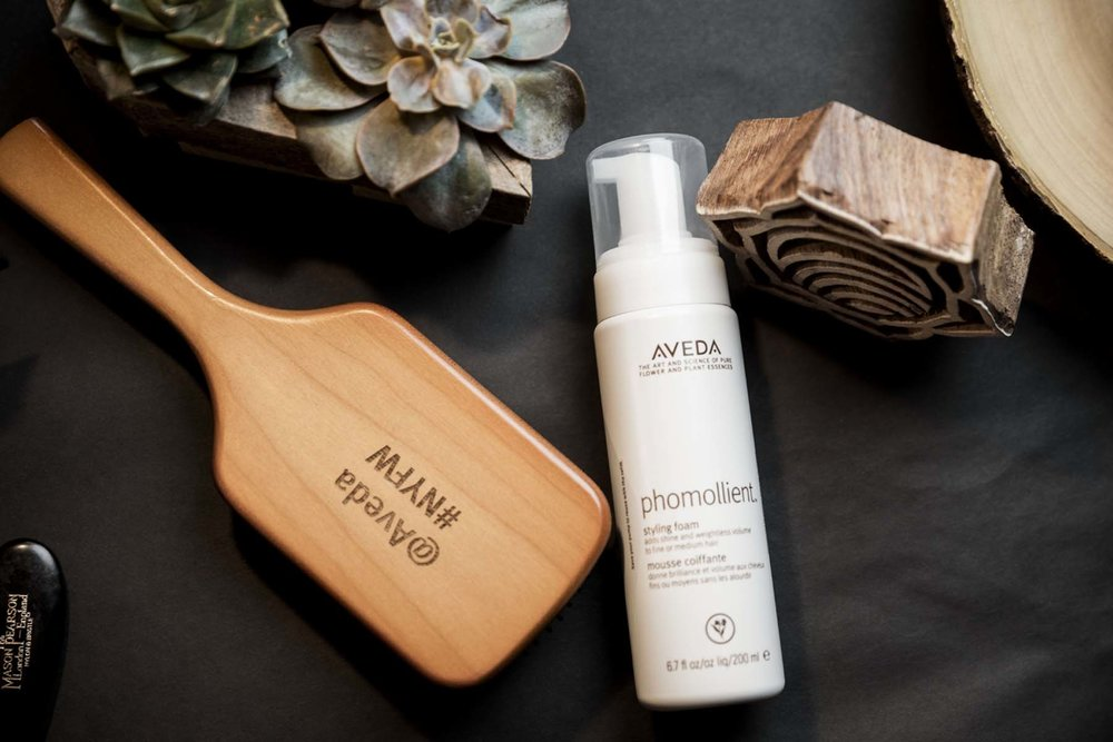 Phomollient is my second choice! This styling agent includes certified organic honey, burdock and marshmallow root. It gives a medium hold with weightless body for that voluptuous blowout. Another thing I love about Phomollient is that it adds volume without build up or weight. Ain't nobody got time for buildup. Pairing this with the daily hair repair, guuuuurl, you're gonna be a show stopper.