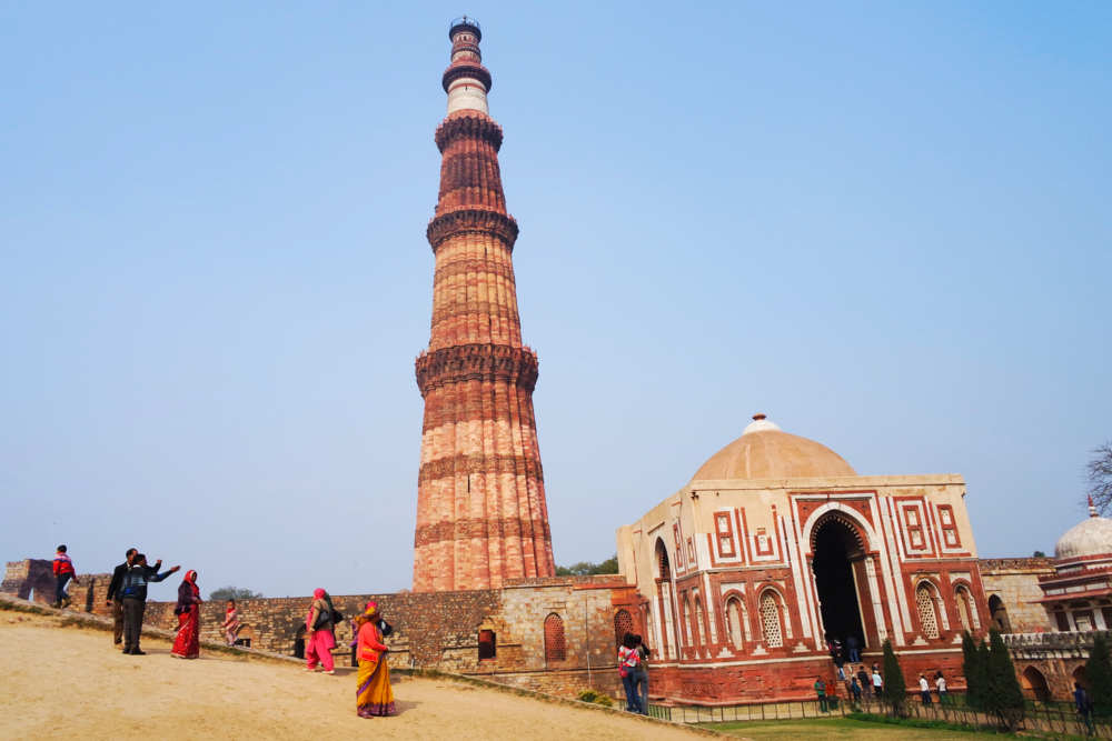 The Qutb Minar tower