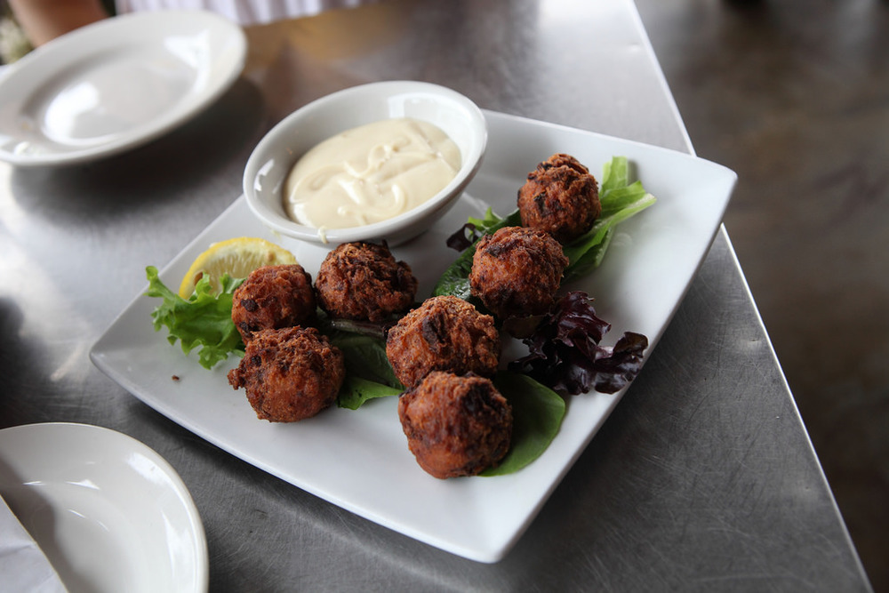 Wally sure would have loved to have tried some conch fritters like these in the Bahamas